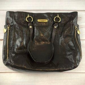 COACH Zipper North/South Tote Bag (#251)